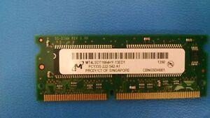 MT4LSDT1664HY-13ED1 Micron MODULE SDRAM 128MB 144-SODIMM ( 1PER )