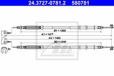 Seilzug, Feststellbremse für Bremsanlage Hinterachse ATE 24.3727-0781.2