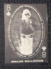 """HOWLIN WOLF Avalon Ballroom 4.5x6.5"""" Family Dog #130 Concert Post Card FVF 7.0"""