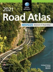 Rand McNally 2021 Midsize Road Atlas (Paperback or Softback)
