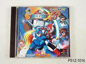 Rockman X4 Playstation 1 Japanese Import PS Mega Man PS1 Japan JP US Seller