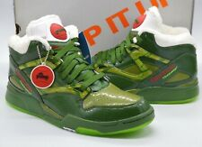 "New Reebok Pump Omni Lite x Gremlins Pack ""Stripe"" Green/White/Red Rare Retro"