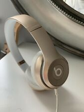 Beats by Dr. Dre Solo2 Headband Headphones - Gold- CASE AND WIRE INCLUDED