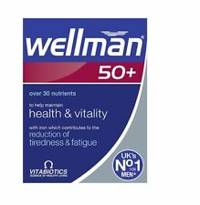 Vitabiotics Wellman 50+ Plus Advanced Vitamin and Mineral Supplement  30 Tablets