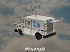 Deluxe USPS US Postal Service Mail Delivery Truck 1/64 Christmas Ornament Gift