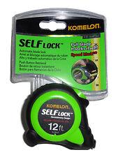 Komelon Premium 12 ft Tape Measure Self Lock Push Button Retrieval          1202