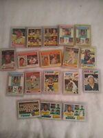 1976 &1977 Topps Baseball Card Lot(18)