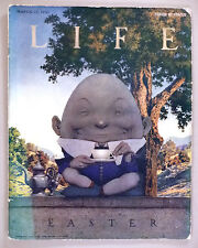 Life Magazine - March 17, 1921 ~~ Maxfield Parrish ~~ Humpty Dumpty cover