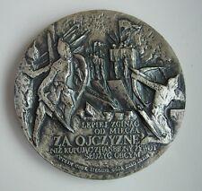 POLISH PRINCE BOLESLAW III WRYMOUTHED, MEDIEVAL BATTLE Glogau MEDAL
