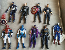 Marvel Legends Avengers Mixed Lot of 9 Action Figures, Loose