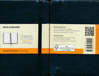 Moleskine Ruled Black Classic Collection Pocket Ruled Ltd Edition Notebook 9x14
