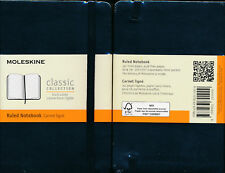 Moleskine Ruled Black Classic Collection Pocket Ruled Limited Edition Notebook