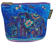 Laurel Burch Dog Canine Family Organizer Bag Pouch Makeup Jewelry Meds New