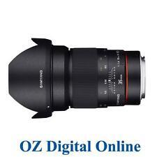 New Samyang AE 35mm f/1.4 AS UMC Lens for Nikon 1 Yr Au Wty