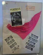 RARE 1994 SIGNED CAST GREASE PLAYBILL TICKET BANDANA EUGENE O'NEILL THEATRE NY
