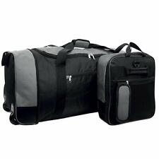 XXL Folding Wheeled Bag Holdall Trolley Sports Luggage Cargo Travel Case