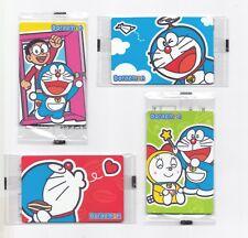 China Macau 2017 McDonald's Member card Doraemon Coca-cola Coke 4 card NEW