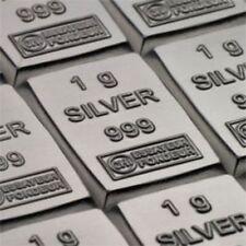 1 Gram .999 Fine Silver Bar ■ Valcambi Suisse ■ Pure Solid Silver Bullion