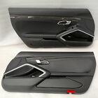 PORSCHE 991 981 718 TURBO S GT3 GT2 RS GTS CARBON LEATHER DOOR PANELS CARDS