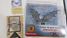 IRTHOSJACH SHADOW BLACK DRAGON  D&D ATTACK WING LE Prize Upgrade KIt Plate Card