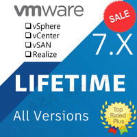 VMware ESXI 7 Enterprise Plus wt Kuberne + vCenter + vSAN + vRealize - Unlimited