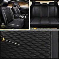 NEW Standard Edition Auto Front+Rear Seats Cover Set Leather Cushion Protector