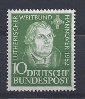 """BRD Mi.-Nr.149 ** Absolut postfrisch! """"Luther"""" SONDERPREIS!"""