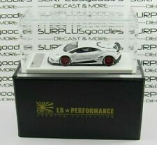 LB-Performance RESIN 1:64 Scale White LAMBORGHINI LB610 HURACAN Liberty Walk 999