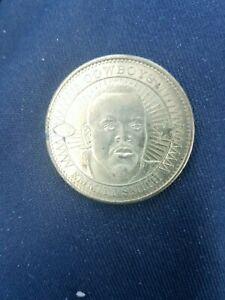 1997 Pinnacle MINT Coin brass emmitt Smith