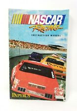 NASCAR Racing PC Instruction Manual ONLY 1994