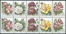 Timbres Flore Roses Suède C1807 ** année 1994 lot 18266