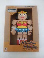 "DC Series 1 Wood Warriors WONDERWOMAN 8"" Action Figure PPW Toys Poseable Comics"