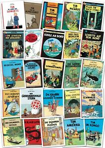Tim und Struppi alle 25 Bände im Set Tim & Struppi Gesamtausgabe Comic
