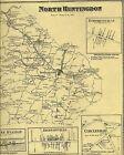 Irwin Westmoreland Fairmount Larimer Ardara PA 1867 Maps Landowners Names Shown