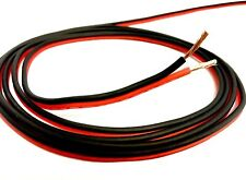 10 Ft 14 Gauge AWG Speaker Cable Car Home Audio 10' Feet Black and Red Zip Wire