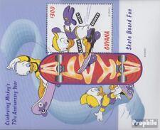 Neuf Avec Gomme Originale 1999 Walt Disney Fi Guyana Block586 complète Edition