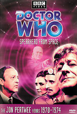 Doctor Who: Spearhead from Space (Story 51) Dvd, Jon Pertwee,