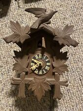 New Listing West German Cuckoo Clock Vintage Black Forest