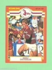 1986 Season Manly Sea Eagles NRL & Rugby League Trading Cards