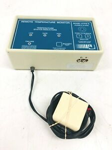 Jewett Remote Temperature Monitor DTPMR-1B 306278H01 w Power Supply