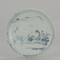 Antique Japanese Shoki Imari Plate ca 1630-1640 Arita Japan Porcelain[:z...