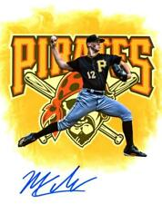 MITCH KELLER PITTSBURGH PIRATES EDIT SIGNED 8X10 PHOTO W/COA