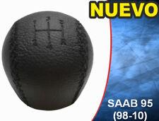 SAAB 95 9-5 (1998-2010) 5 VELOCIDADES DE CUERO POMO DE CAMBIO 4777074 - NUEVO