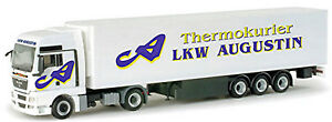 Man Tgx XXL Refrigerated Truck Augustin Austria 1:87 Herpa