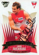 ✺Signed✺ 2005 SYDNEY SWANS AFL Premiers Card AMON BUCHANAN