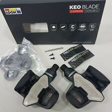Look Keo Blade Carbon Ceramic 12/16Nm Road Clipless Pedal Black