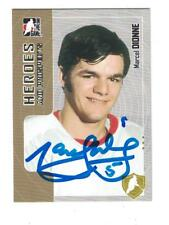 Marcel Dionne AUTOGRAPH IN THE GAME HOCKEY CARD SIGNED DETROIT RED WINGS
