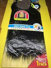 "NAKED NATURE_Wet &Wavy_DEEP_WAVE_7PCS_14""/14""/16""/16""/18""/18""+SILK BASE Closure"
