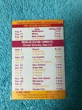 1979 Nfl Tampa Bay Buccaneers Schedule