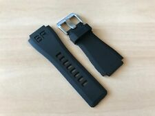 Bell & Ross Aftermarket Replacement Rubber Watch Strap Band BR-01 BR-03